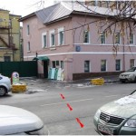 С левой стороны через дорогу – темно-розовое здание ул.Зацепа д.21. Перейти дорогу.